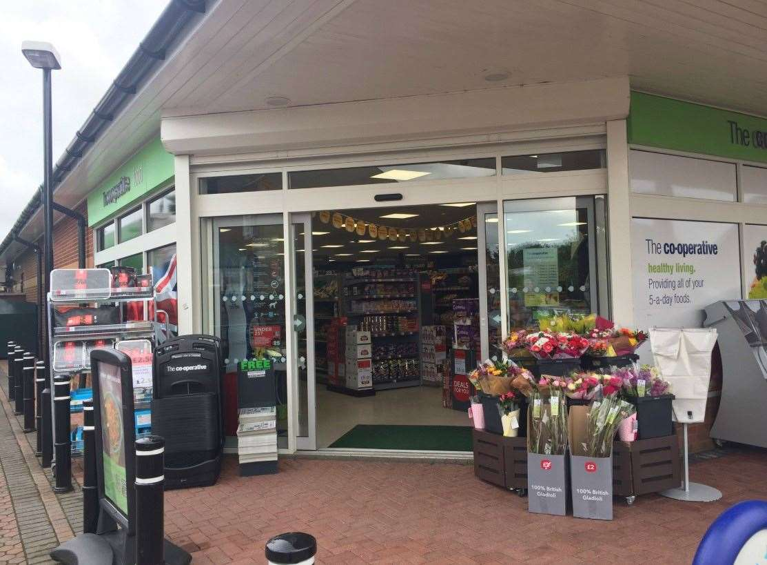Co op's new look store at Terrington St Clement (13821311)