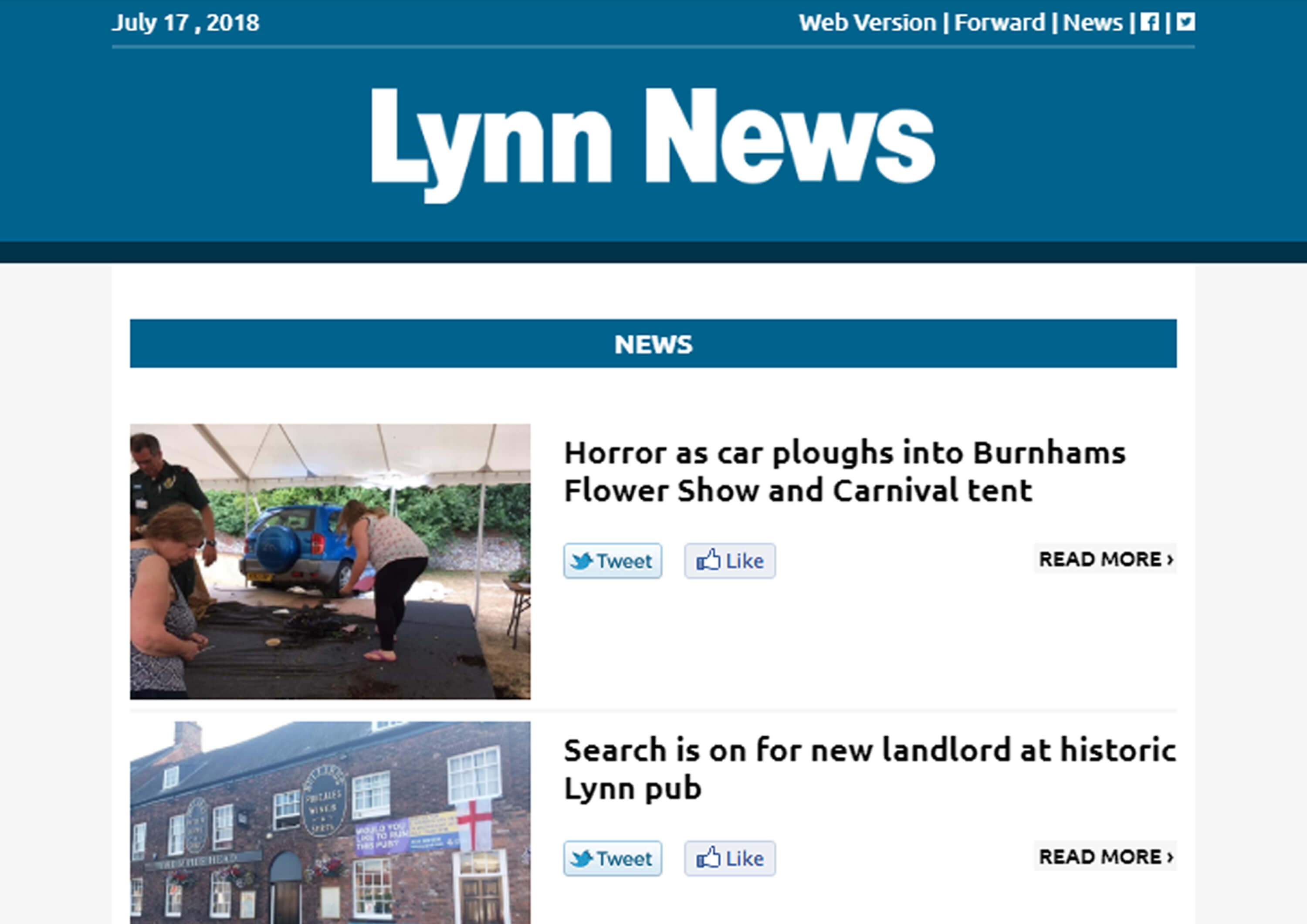 Lynn News Newsletter