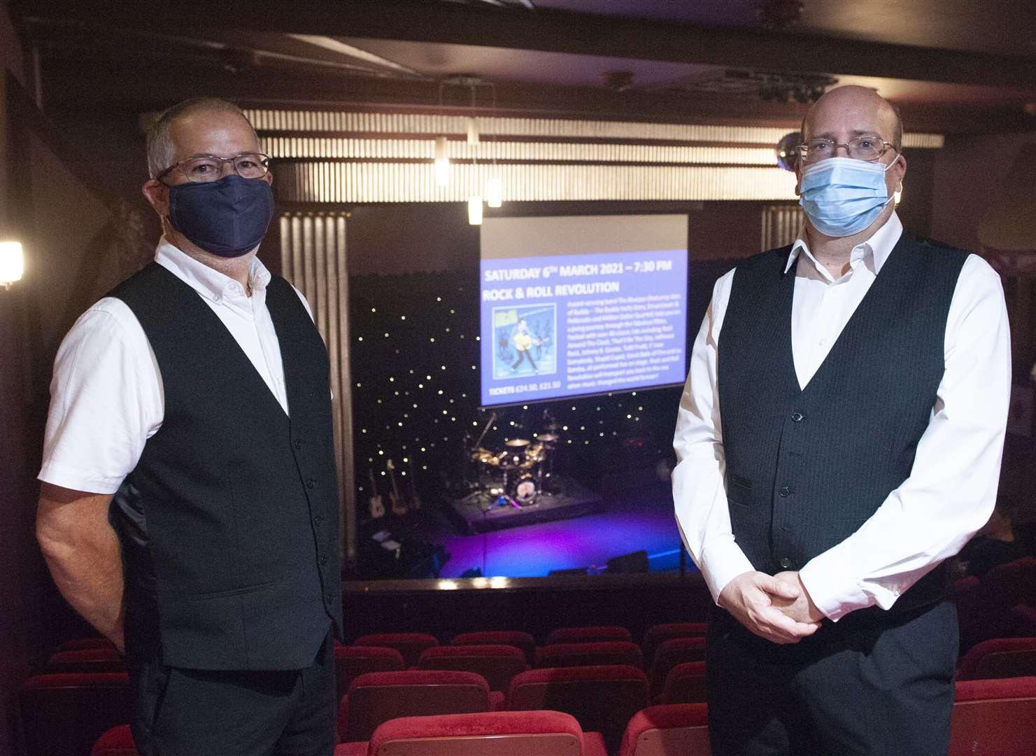 Hunstanton Princess Theatre ushers. Gary Search and Phil Thomas. Picture: Michael Fysh