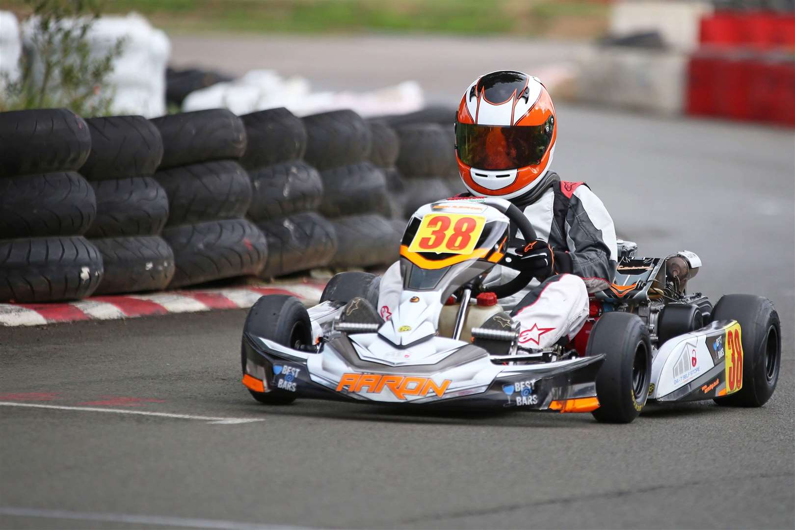 Aaron Alexander and his karting team raced in Round 6 of the SCSS 200 Honda Cadet Extreme kart Championship last weekend at Stretton in Leicestershire. Kart Picture taken by Mark Hall Photography. (4133060)
