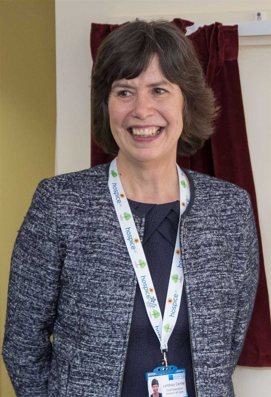 Lyndsay Carter, CEO of the Norfolk Hospice, Tapping House (12707021)