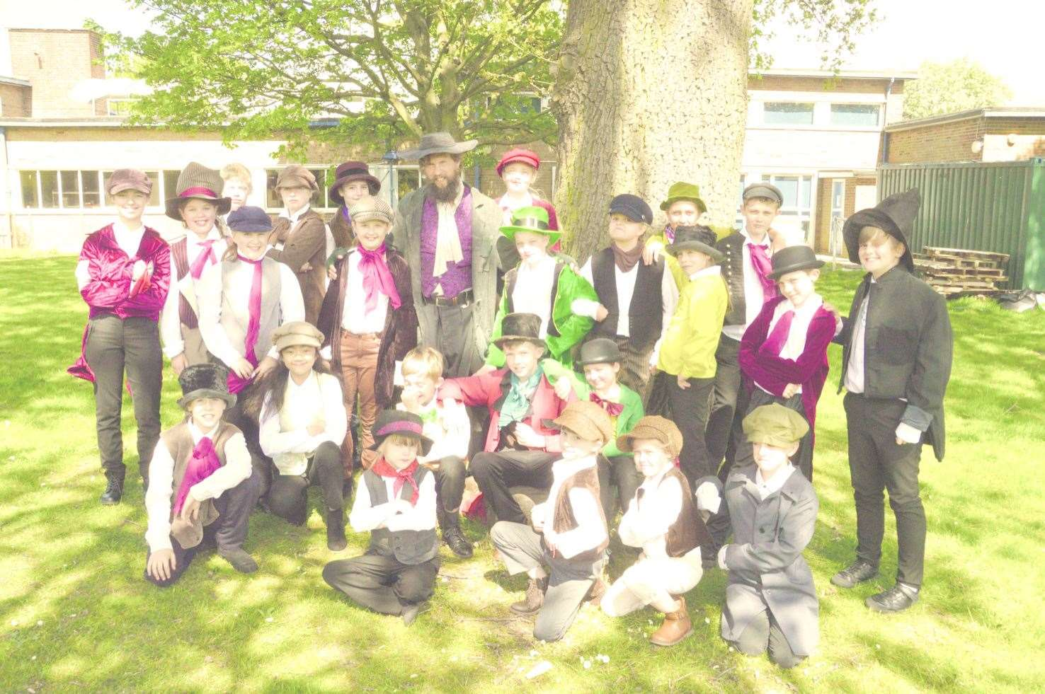 Fagin's Gang, with Matthew Austin as Fagin (10226213)