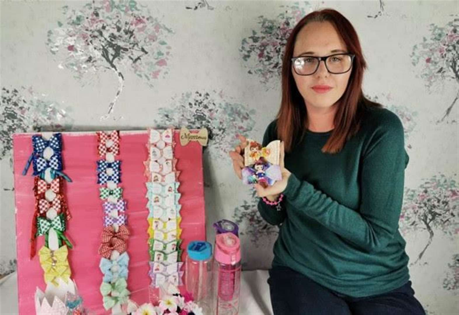 Fairstead mum-of-two sets up new business creating unique accessories for children