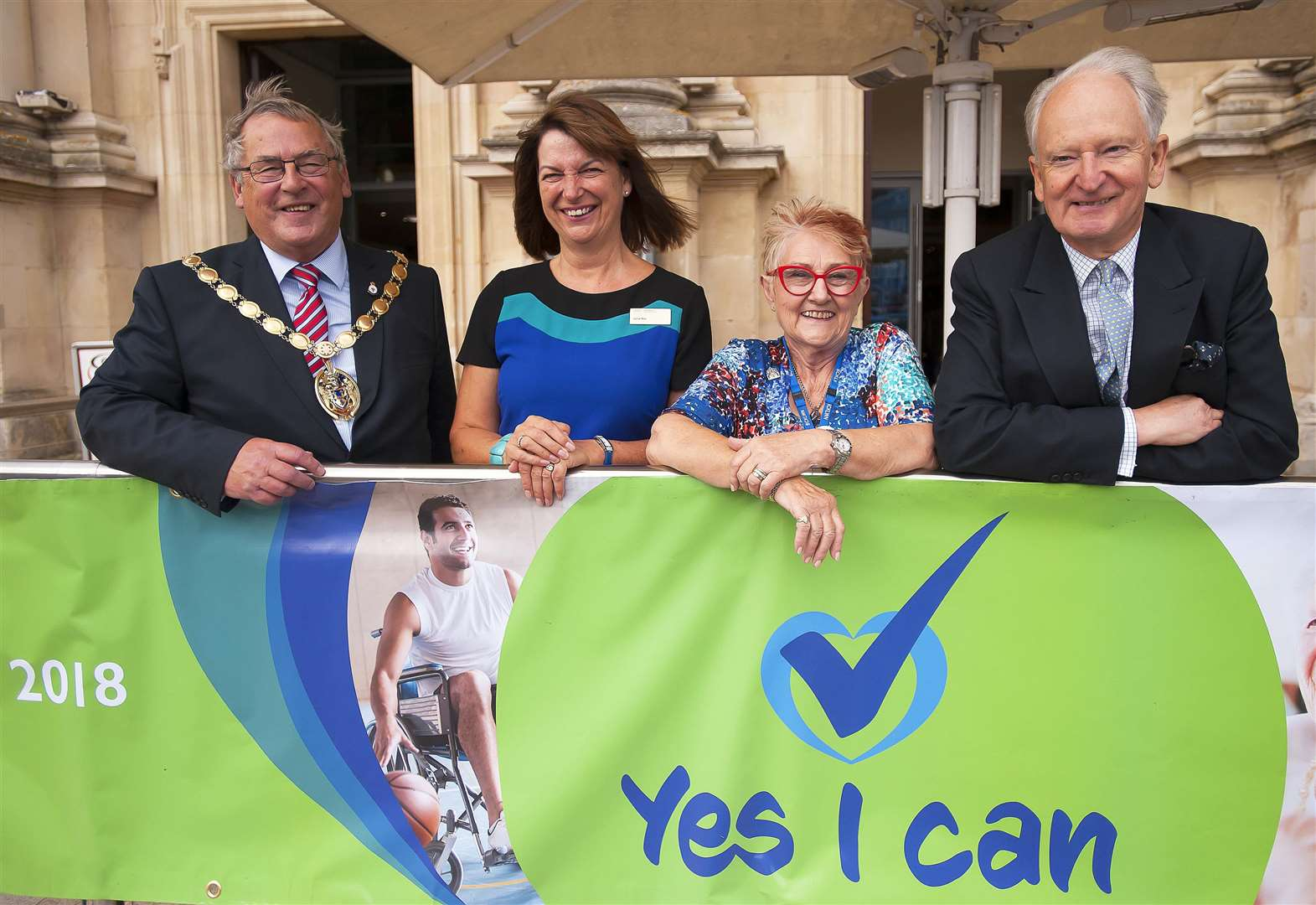 Spreading the 'Yes I Can' message at King's Lynn event