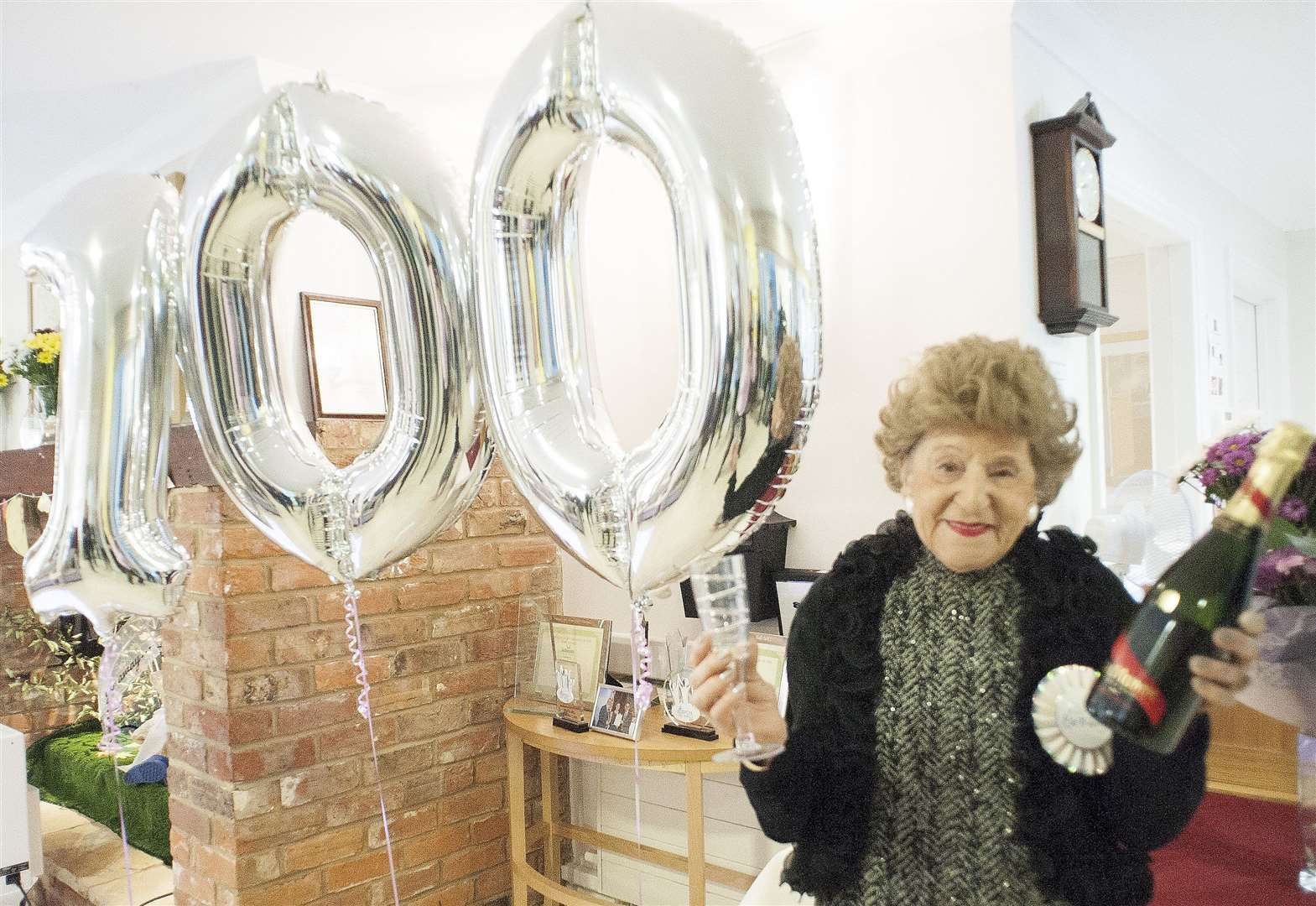 King's Lynn woman plans wing-walk after celebrating 100th birthday