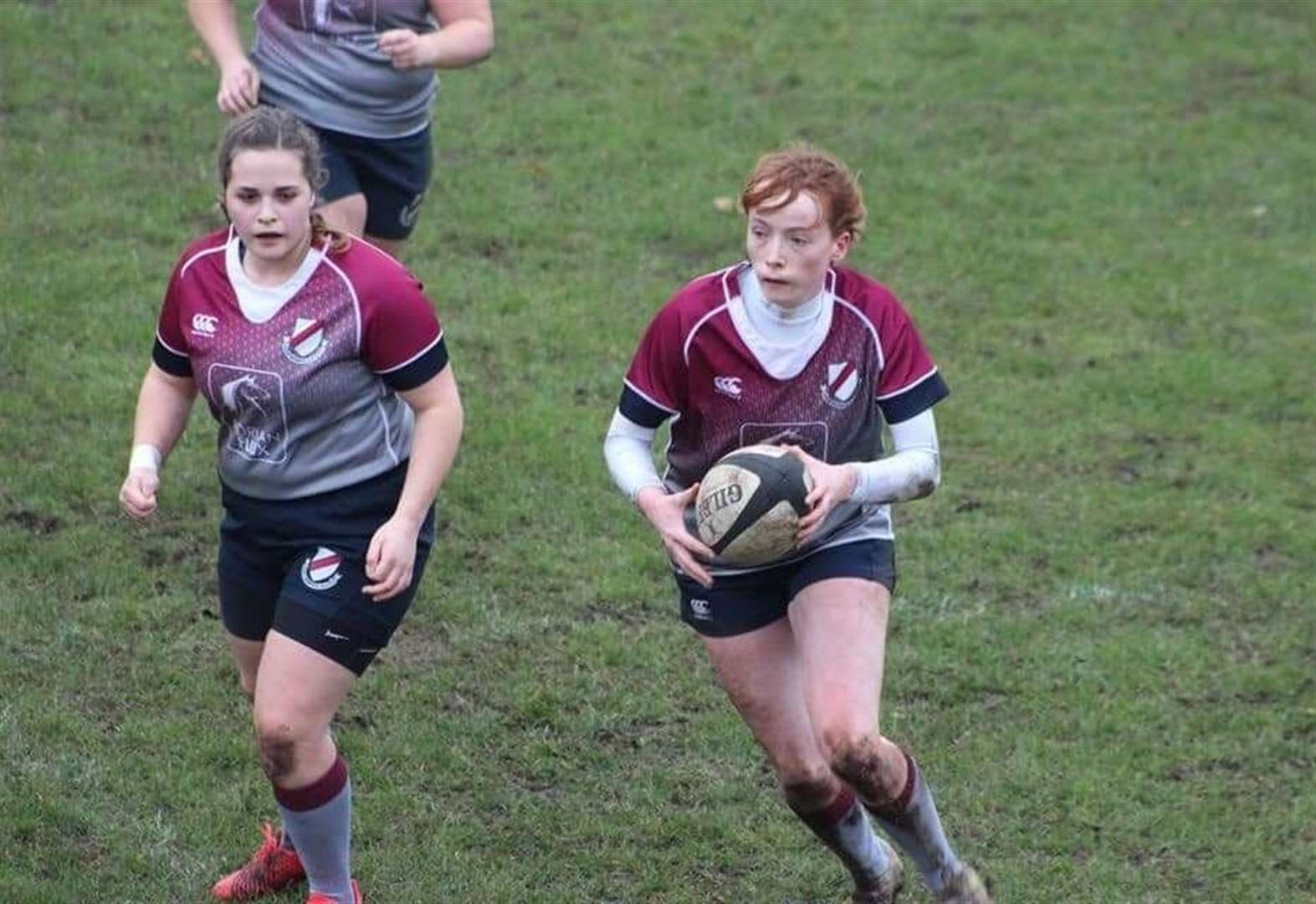 Becky claims a hat-trick of tries as ladies record first victory