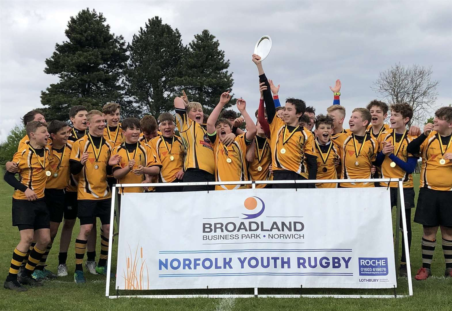 Underdogs come from behind to triumph in plate final at West Norfolk Rugby Club