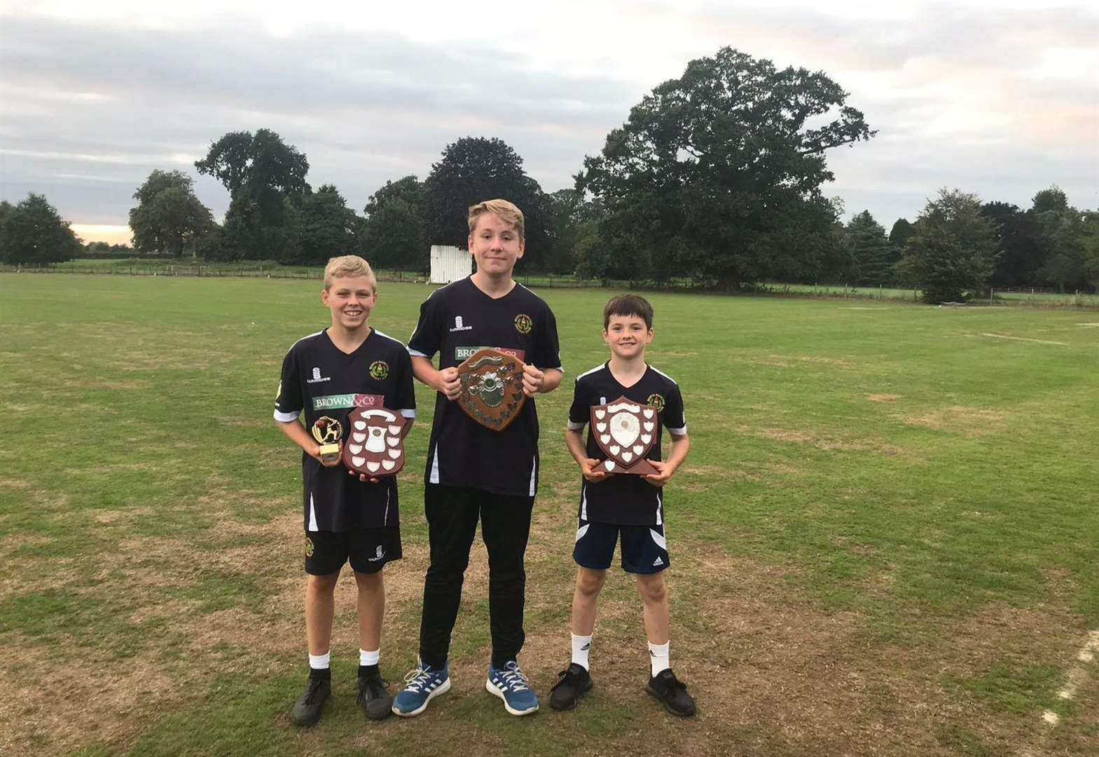 North Runcton cricketers honoured after another successful season on the pitch