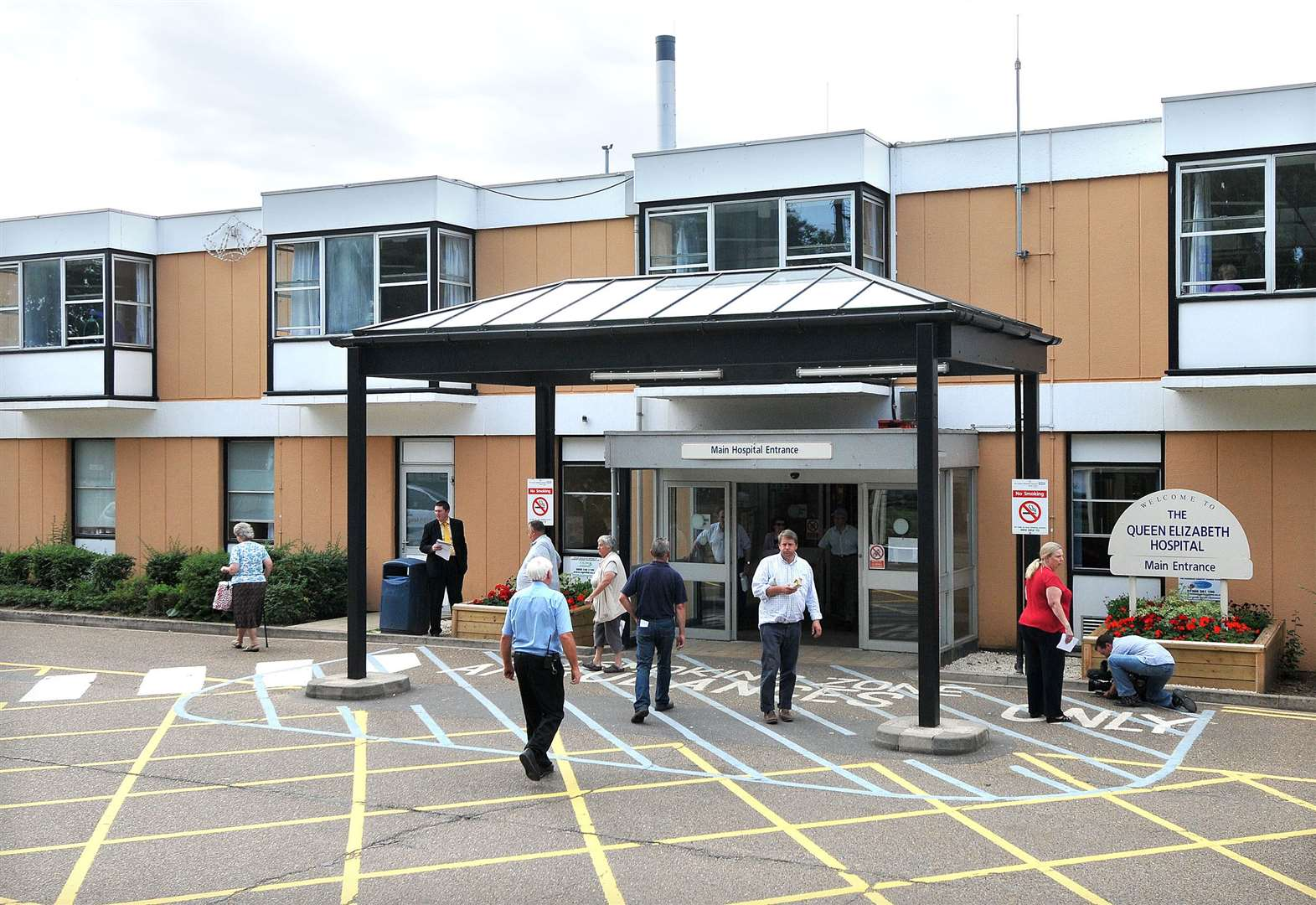 Election candidates clash over King's Lynn hospital cash warning