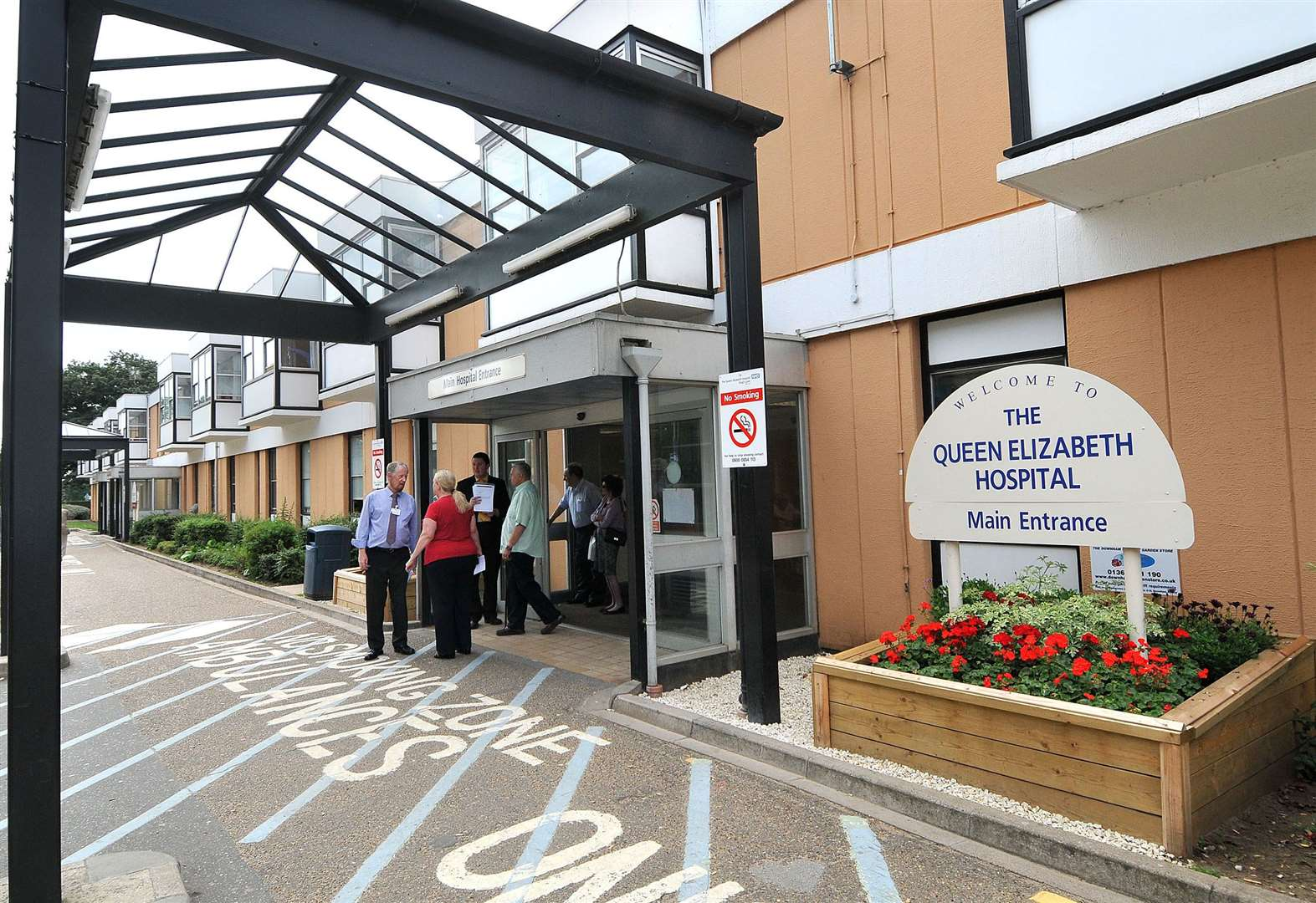 Bed blocking at Queen Elizabeth Hospital falls with partners' work