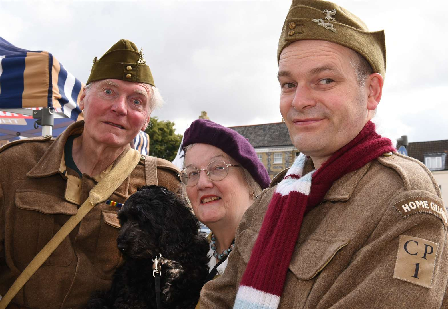 A step back in time for Swaffham Dad's Army Day