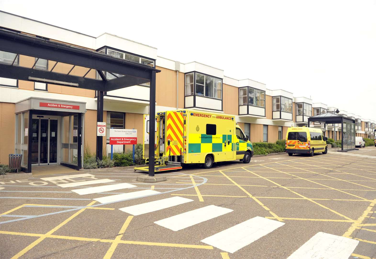 A&E attendance rise recorded at King's Lynn hospital