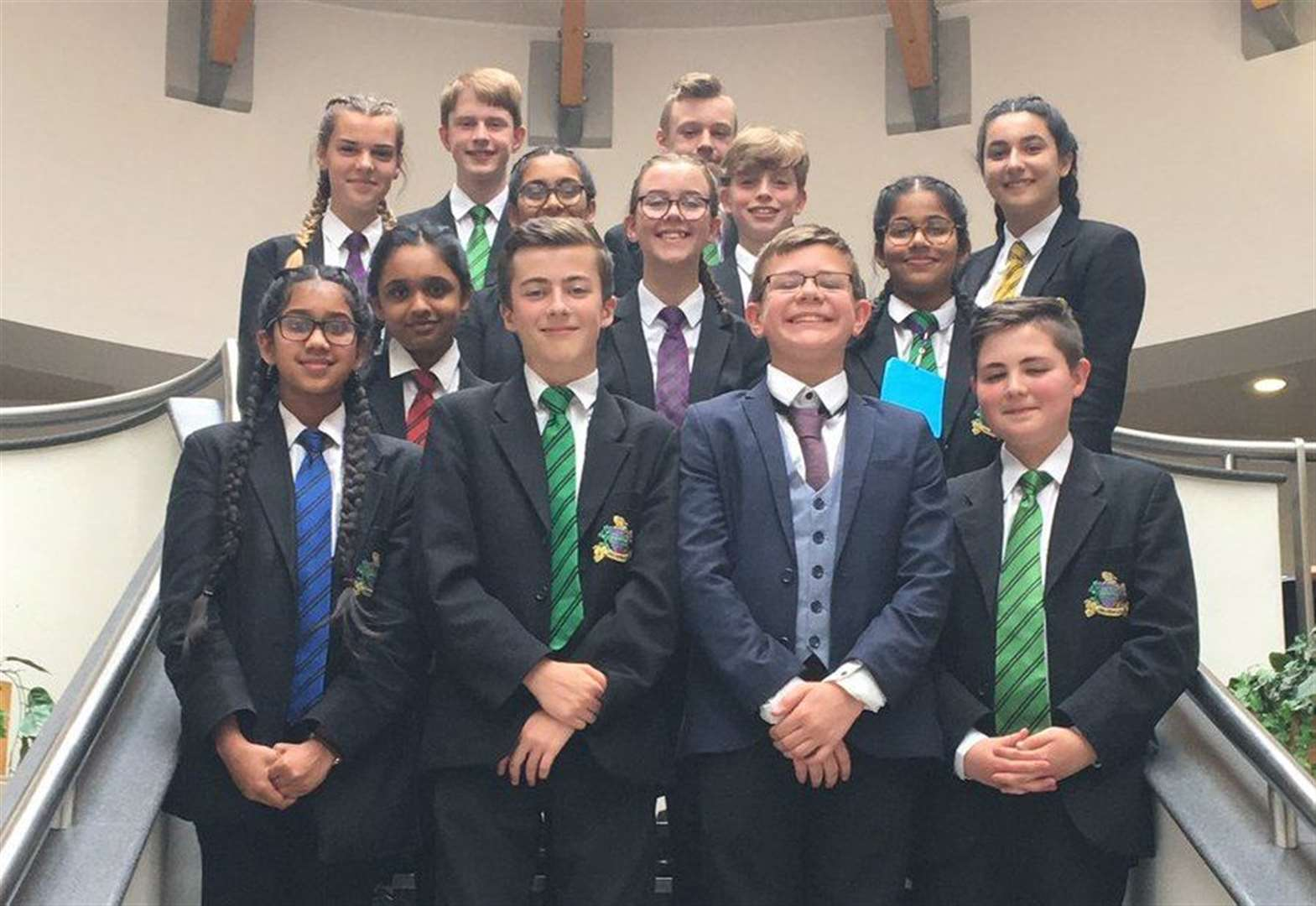 West Norfolk pupils lay down mock law in national final