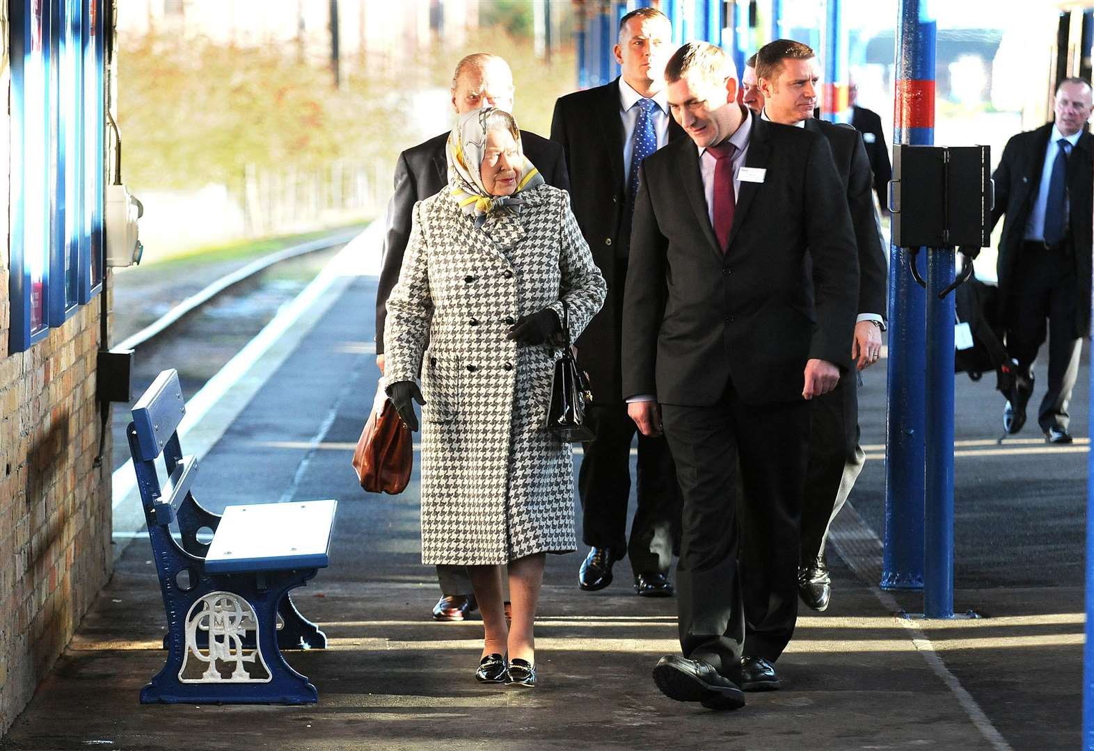 Queen doesn't like new King's Lynn trains