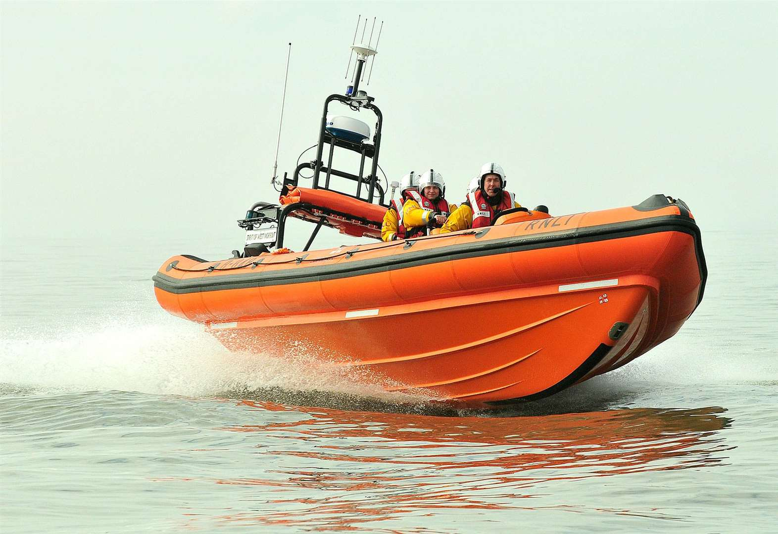 Three girls rescued off coast at Brancaster