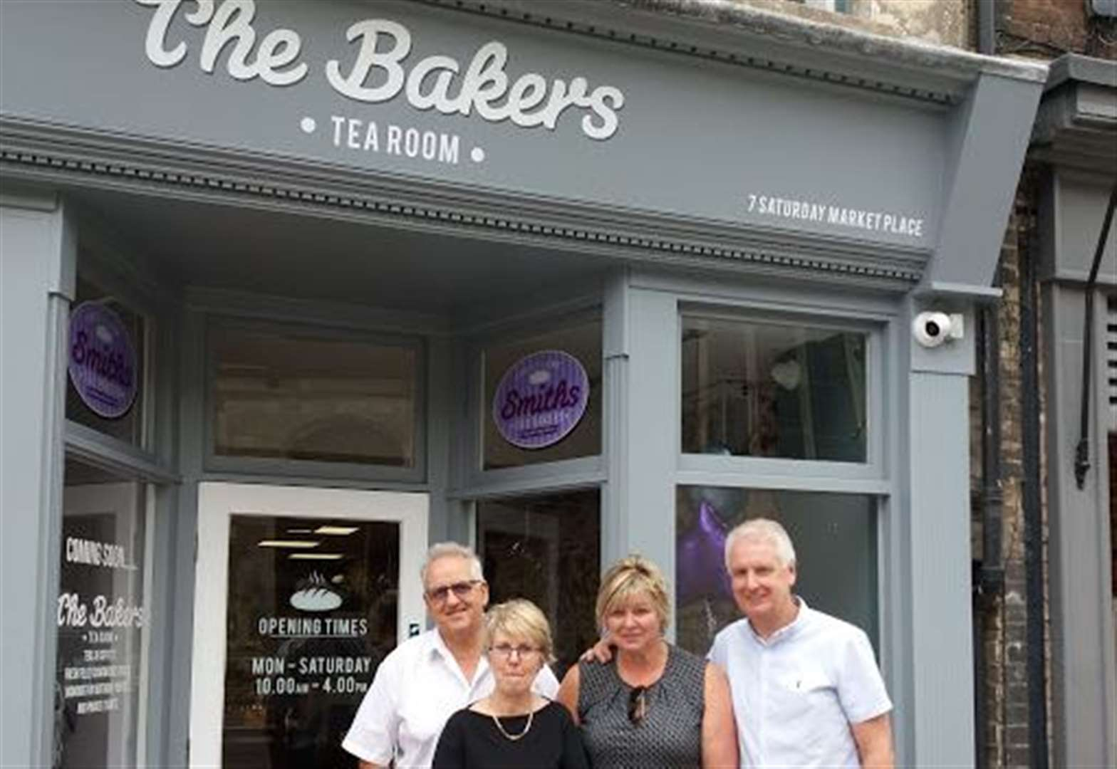 New tea room opens in the historic heart of Lynn today