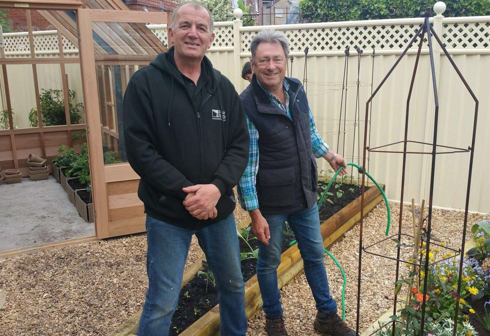 Magdalen entrepreneur teams up with celebrity for gardening show