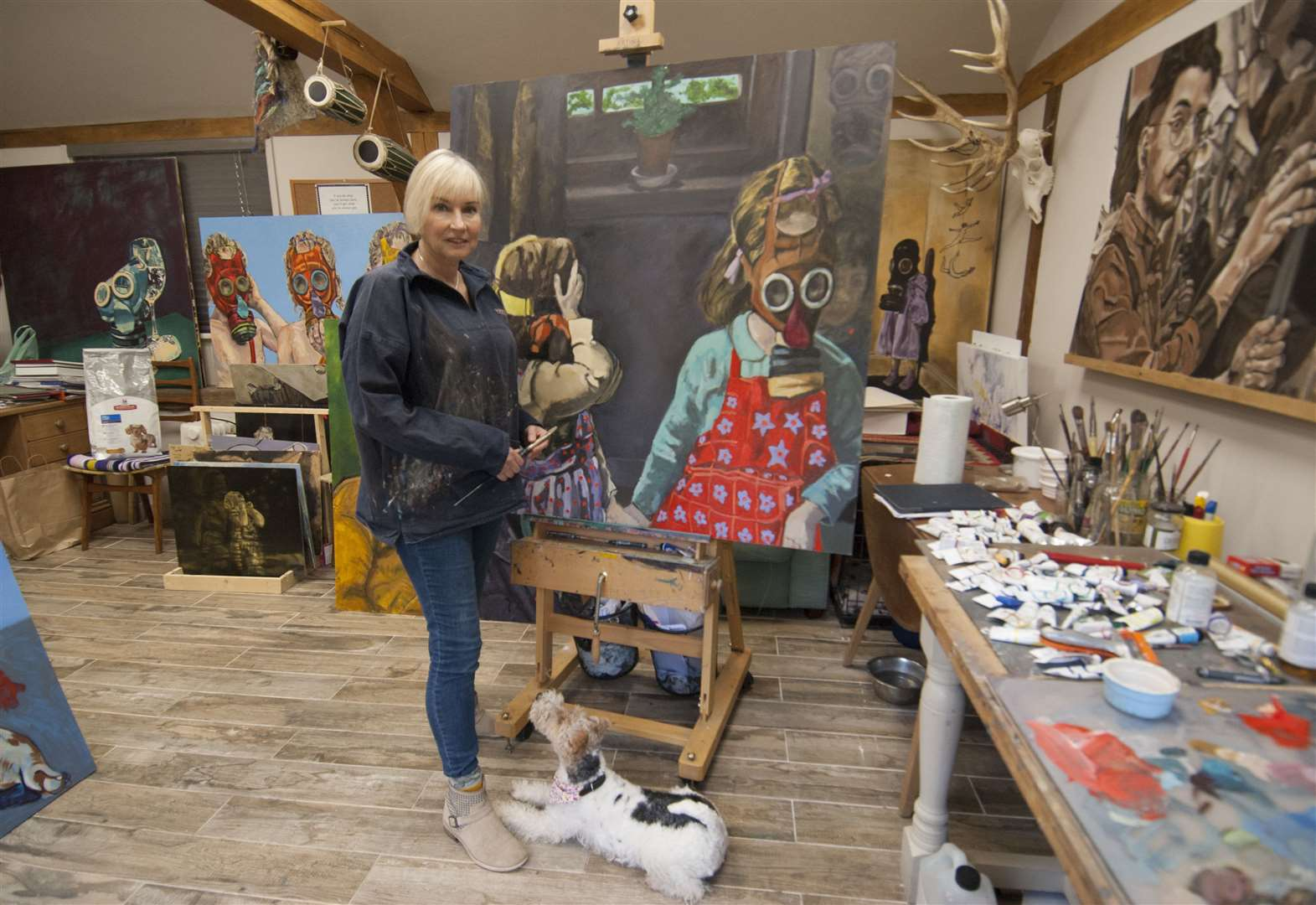 Artist's paintings banned from exhibition at Fakenham attraction