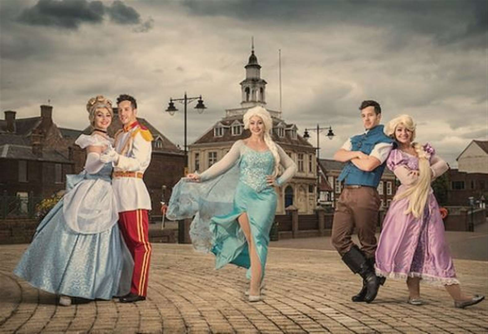 Princesses and heroes to visit Market Place