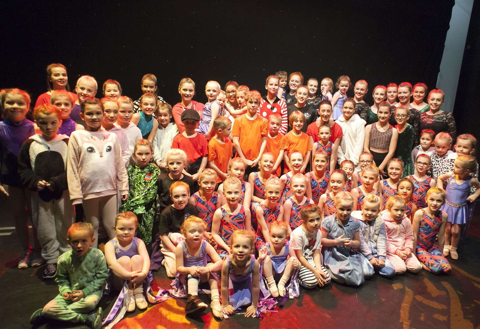 Nearly 80 young Fakenham dancers take to the stage in aid of cancer charity