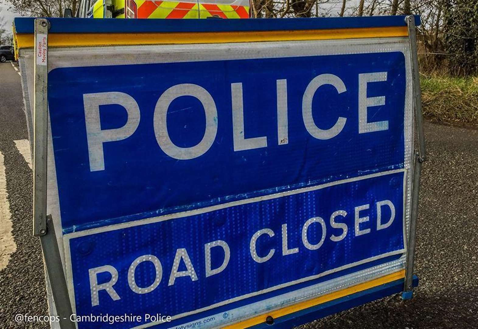 A141 towards March closed after tractor crash on Guyhirn roundabout