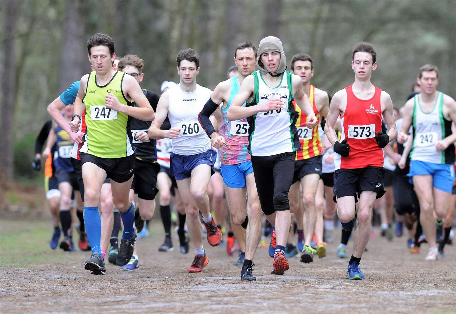 Ryston's Nic Bensley nails down fourth straight success at Shouldham Warren