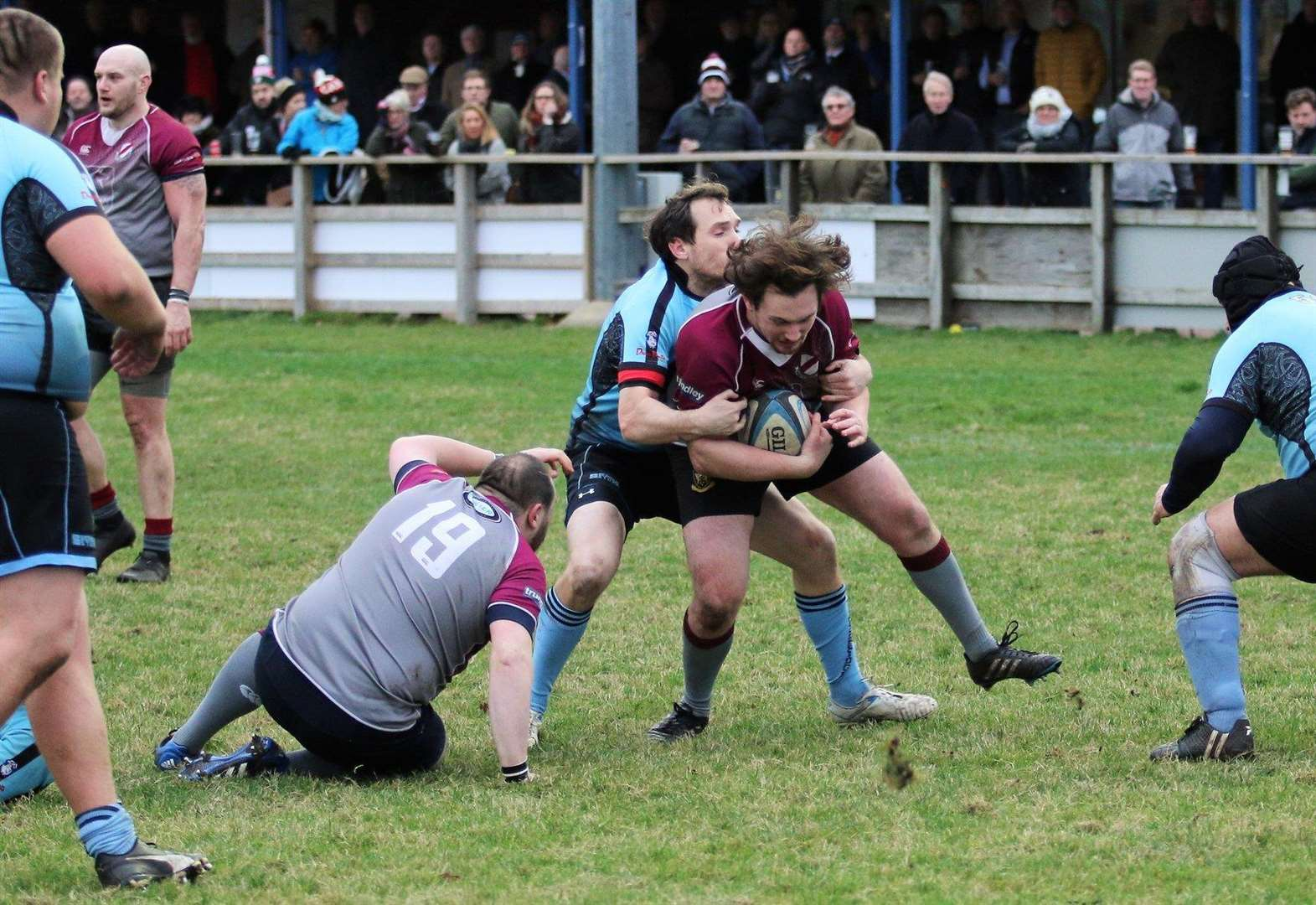 West Norfolk maintain the pressure on leading pack in London 3 Eastern Counties
