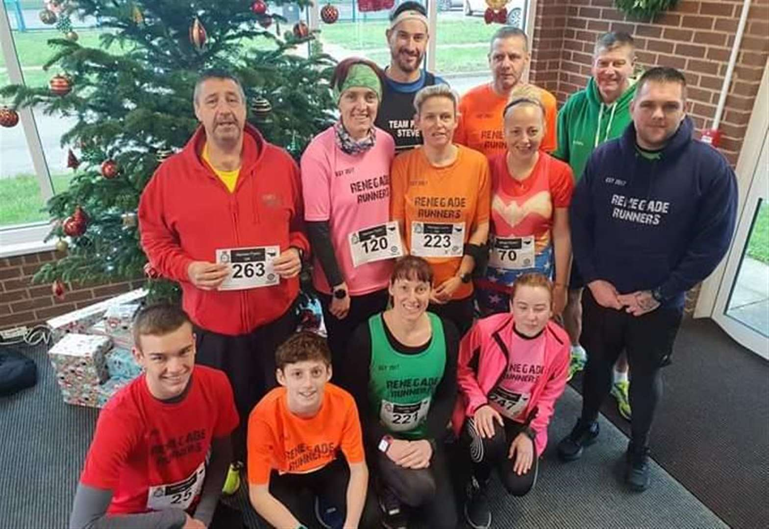 Renegade Runners make their mark in annual Marham Flyers race