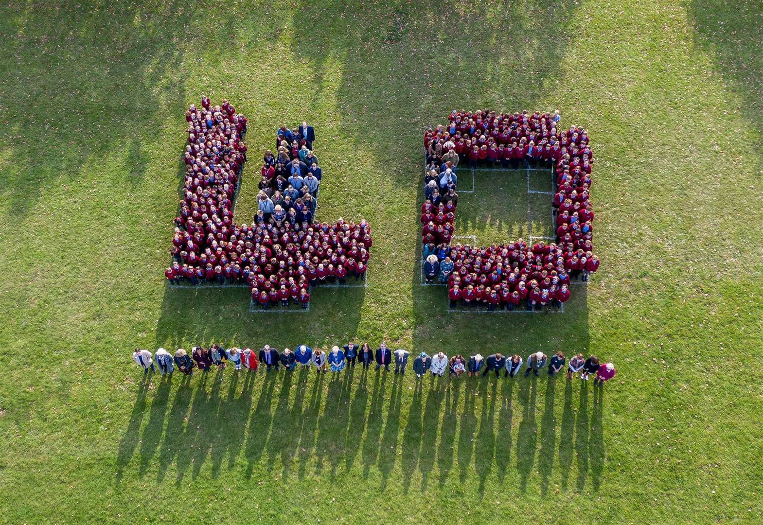 Pupils and staff celebrate four decades of Downham Market primary school