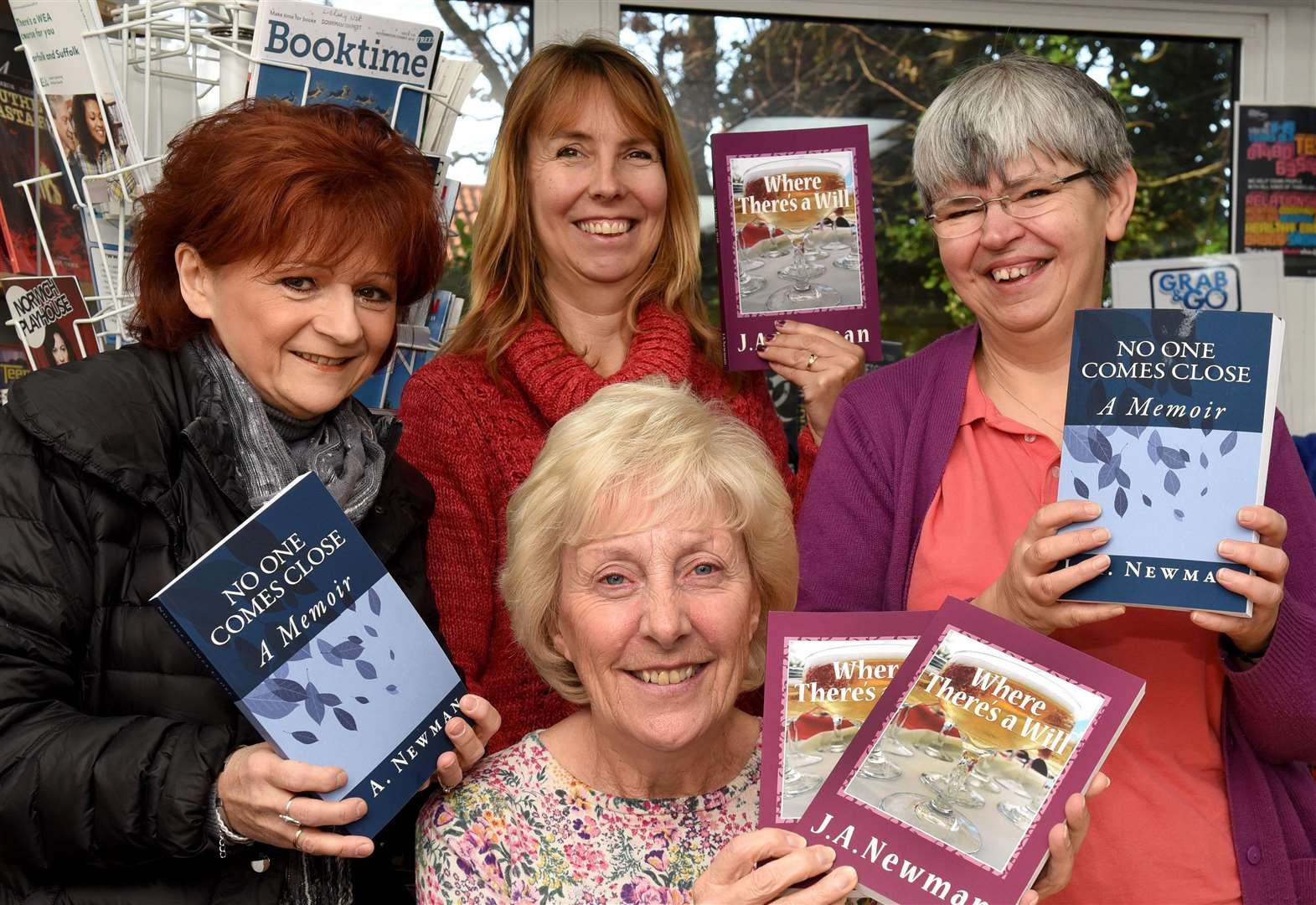 West Norfolk author shares literary advice at event at Downham Market Library