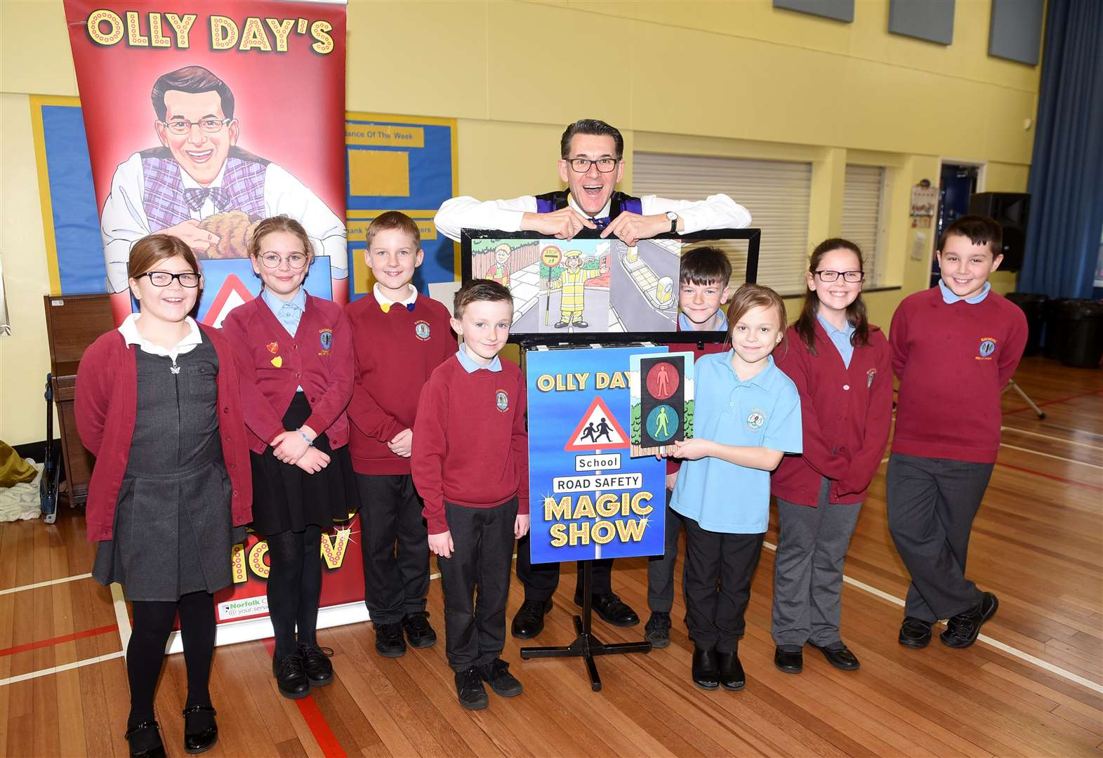 Road safety shows provide learning with laughter for West Norfolk pupils