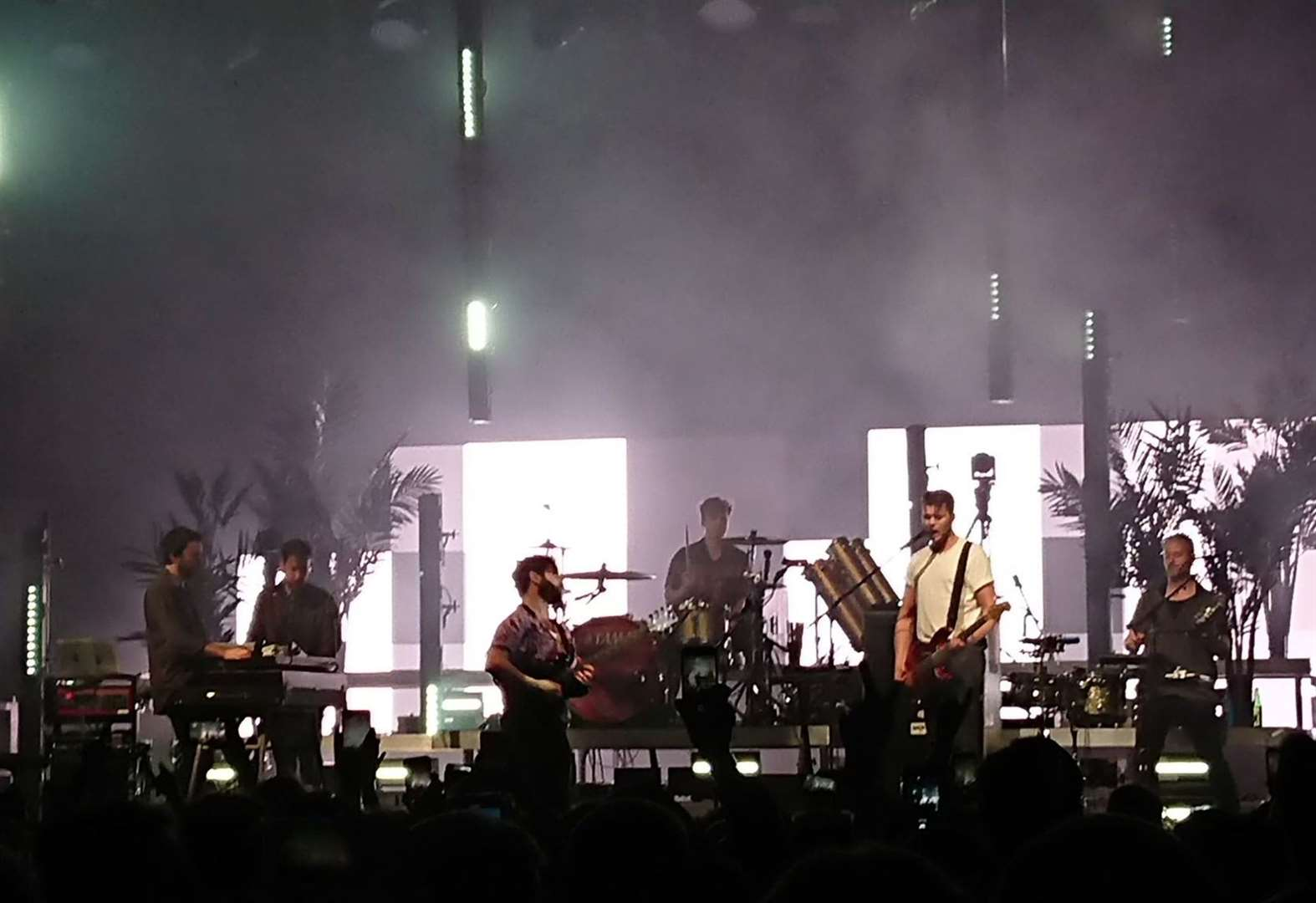 REVIEW: Foals, Thetford Forest
