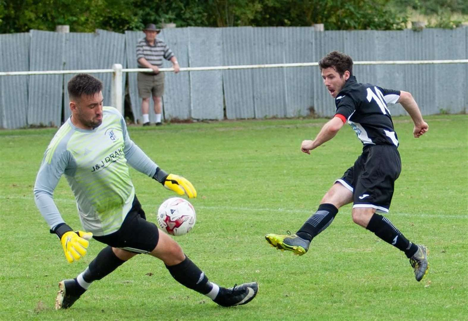 New Swaffham Town boss Alex Vincent still learning the ropes at Shoemakers Lane