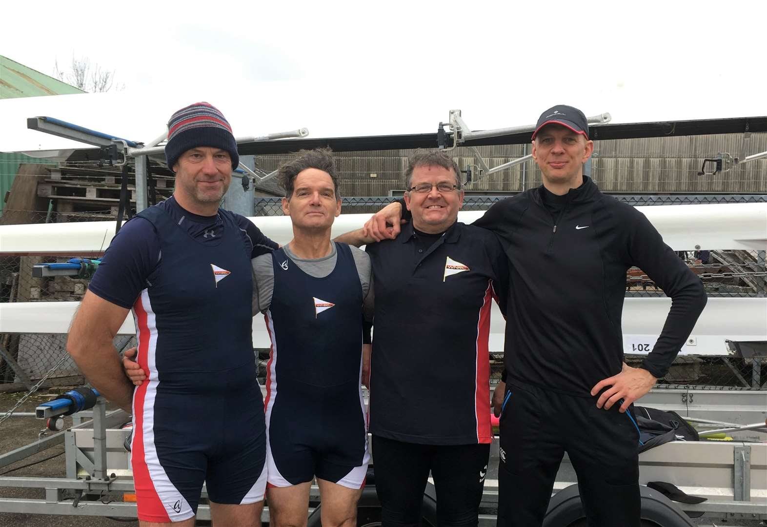 Young rowers finish fourth in open double at Ely Head race