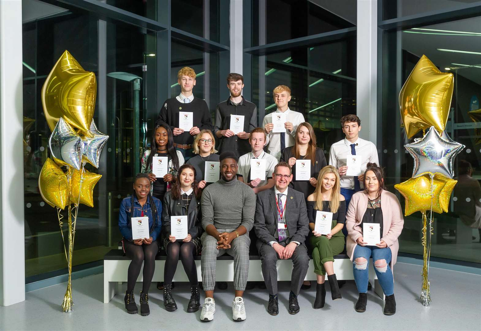 College students enjoy success at King's Lynn celebration evening