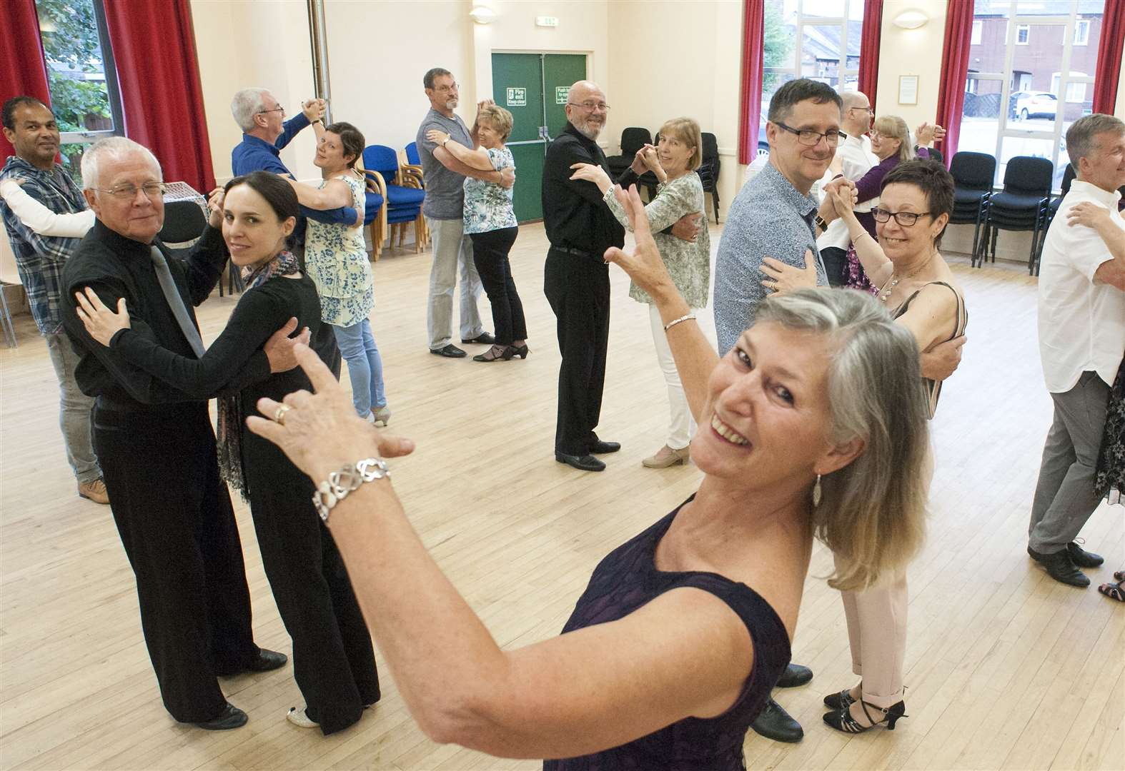 Dance school owner from Denver celebrates 50 years of teaching by holding charity fundraiser