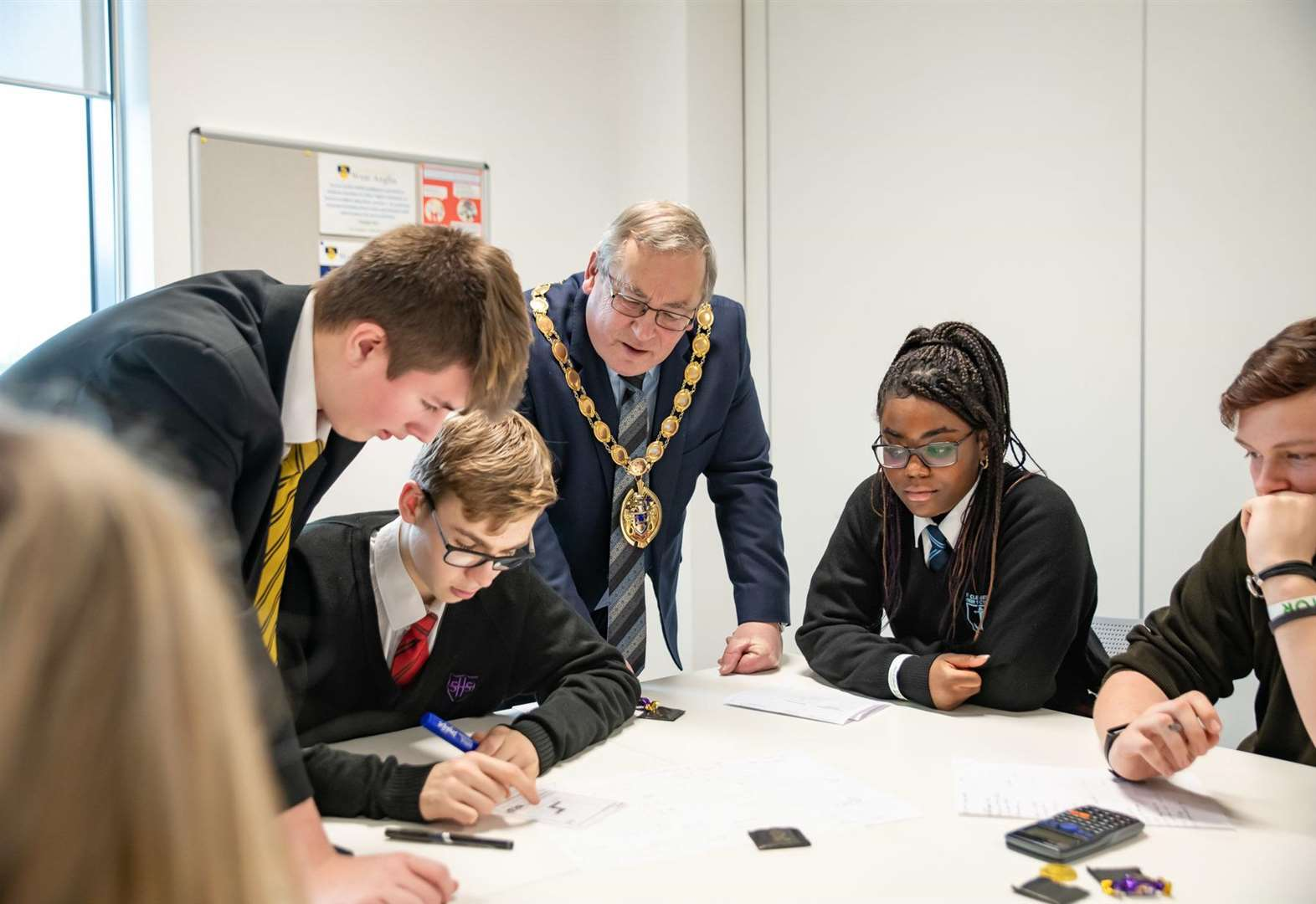 West Norfolk students face their University Challenge at conference