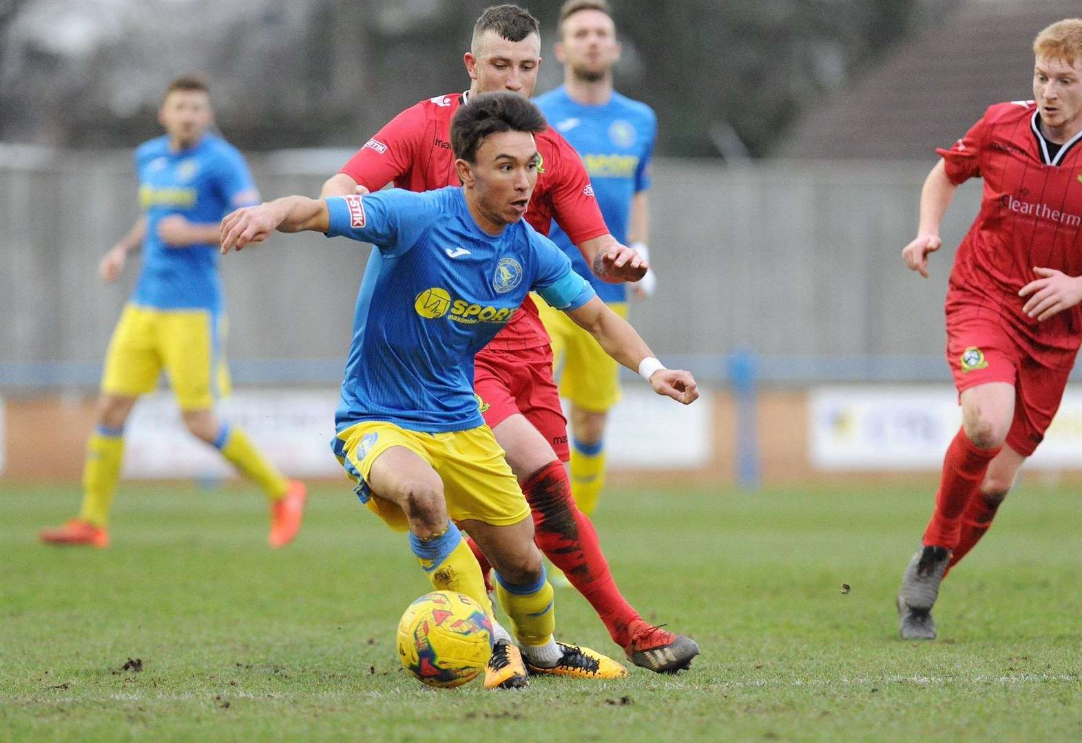 King's Lynn Town make hard work of extending long unbeaten run at home to Barwell in the Southern League