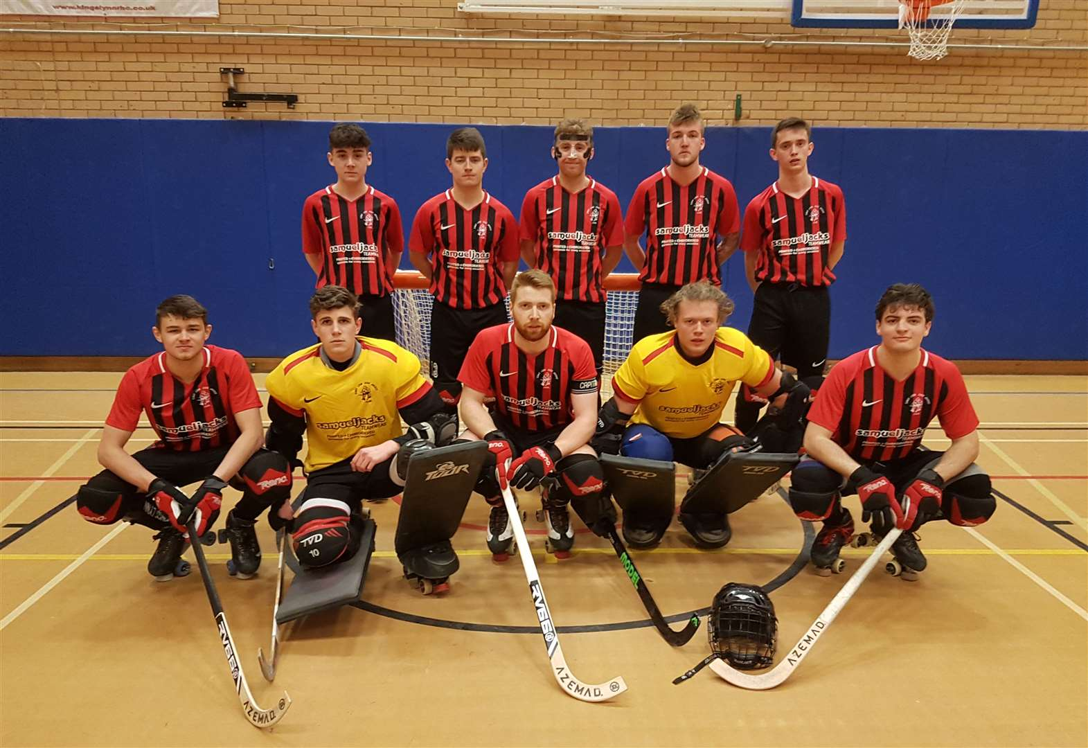 King's Lynn rink hockey outfit dazzle opposition with 12-goal haul