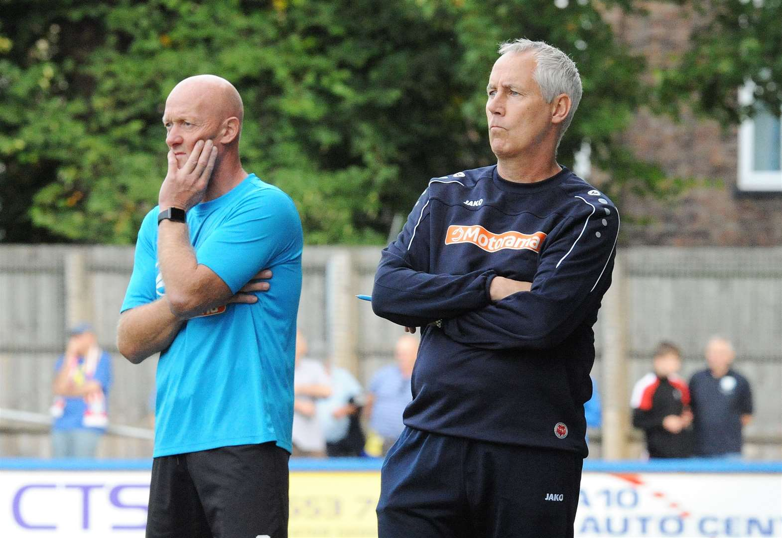 Linnets boss Ian Culverhouse calls on some realism at The Walks