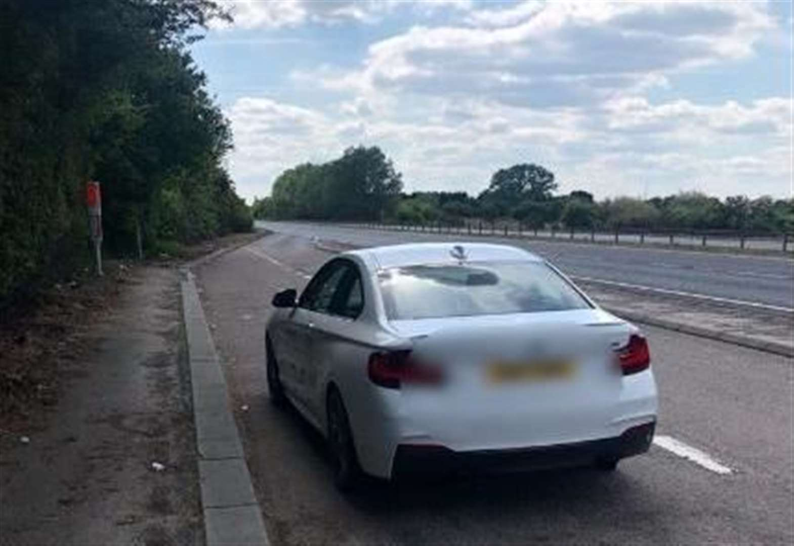 Man stopped for driving over 120mph on A47 minutes after buying car