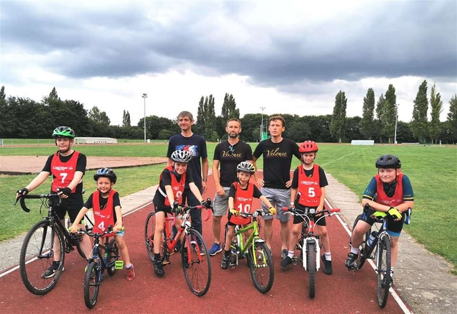 Lynn cycling juniors participate in first-ever competition