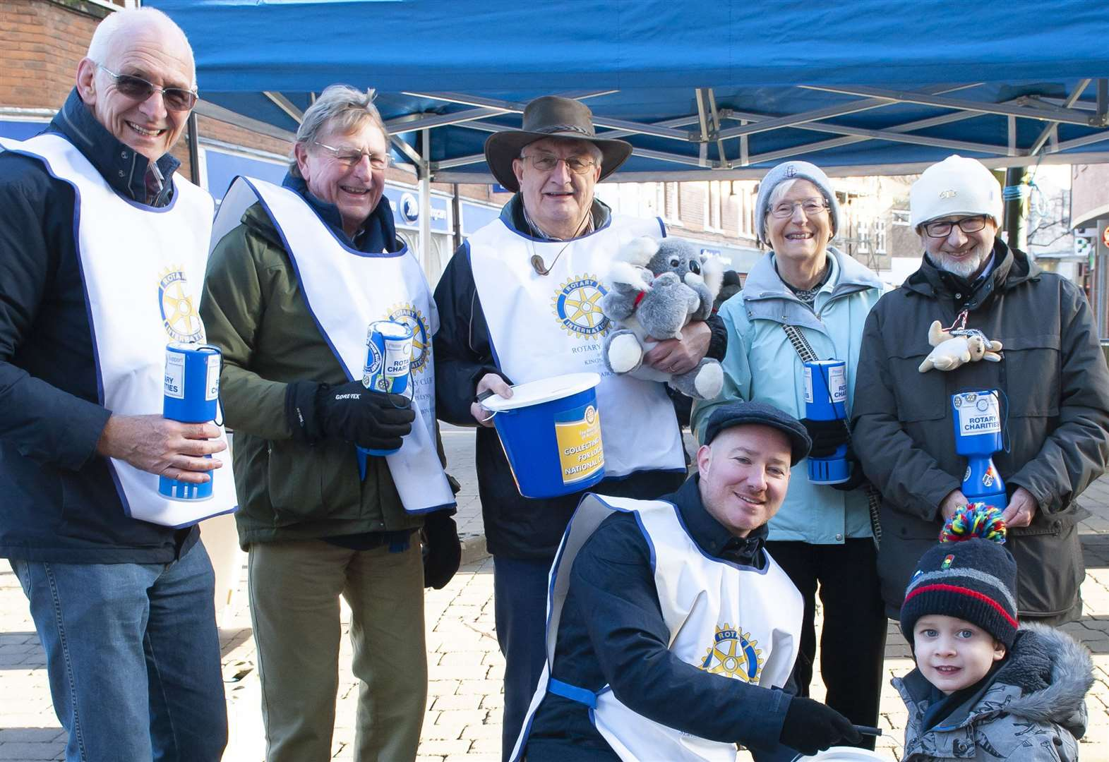 Rotarians in King's Lynn collect £2,500 for Australian bushfire relief effort