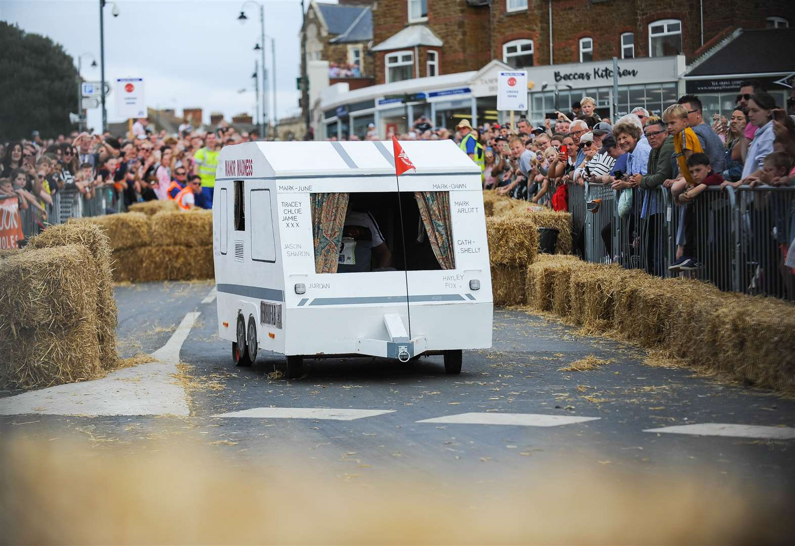 Thousands enjoy 'most popular soap box derby yet' as karts race through Hunstanton