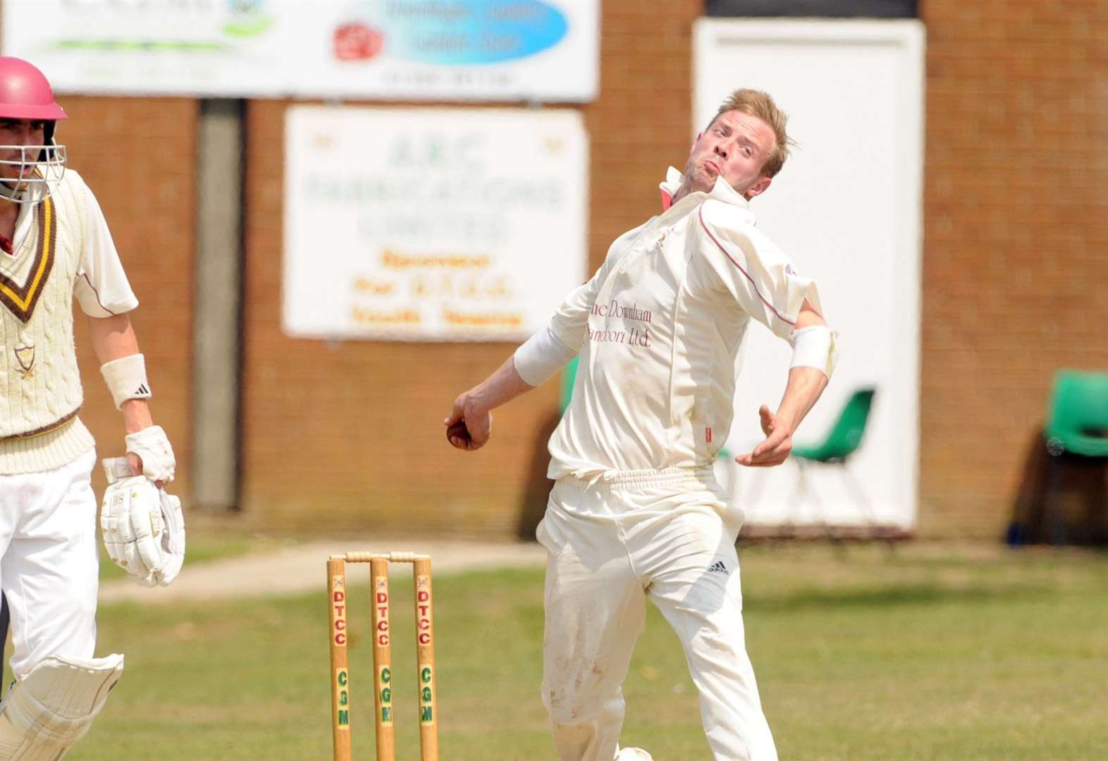 Downham hold nerve with thrilling four-run victory over Brooke