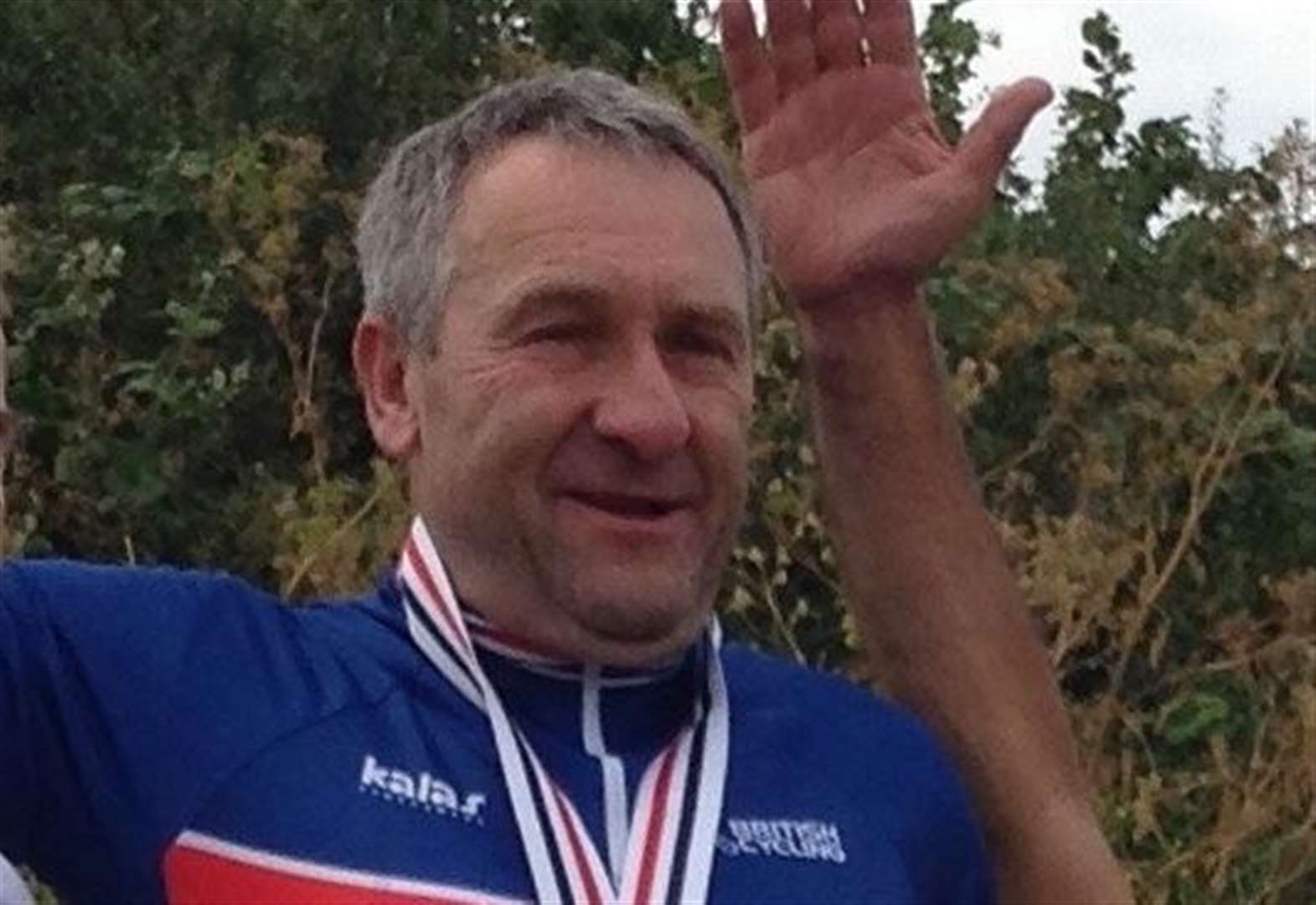 Golden day for racer Ken at national masters competition