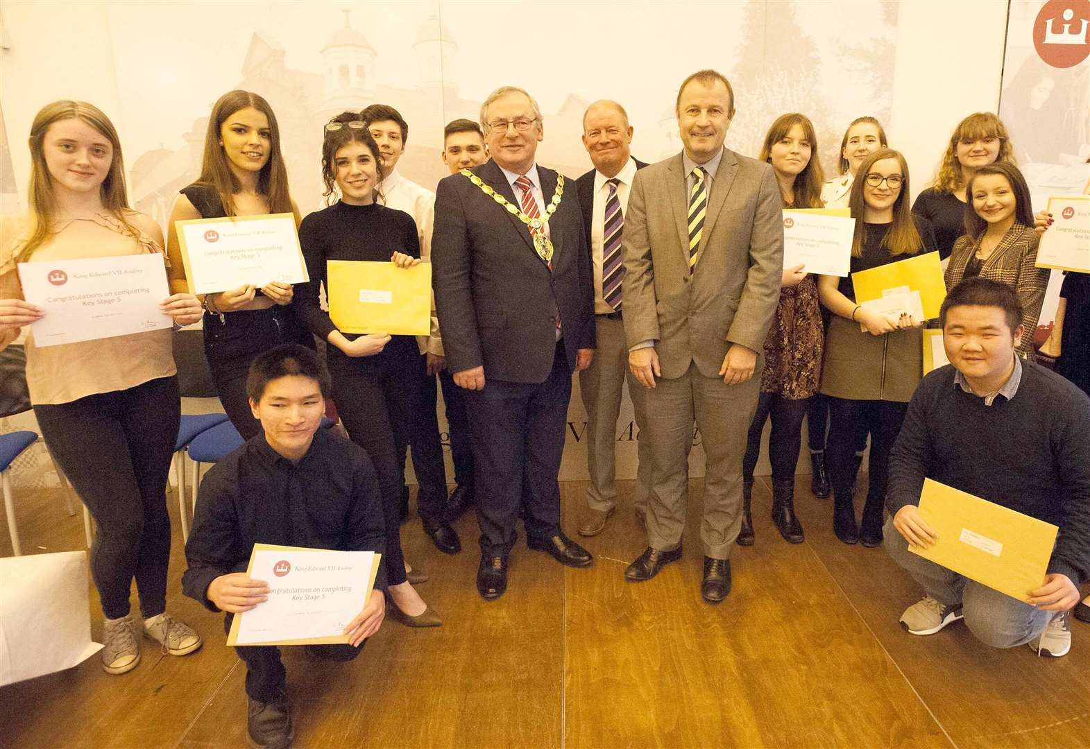 Students celebrate success at KES Academy prizegiving evening