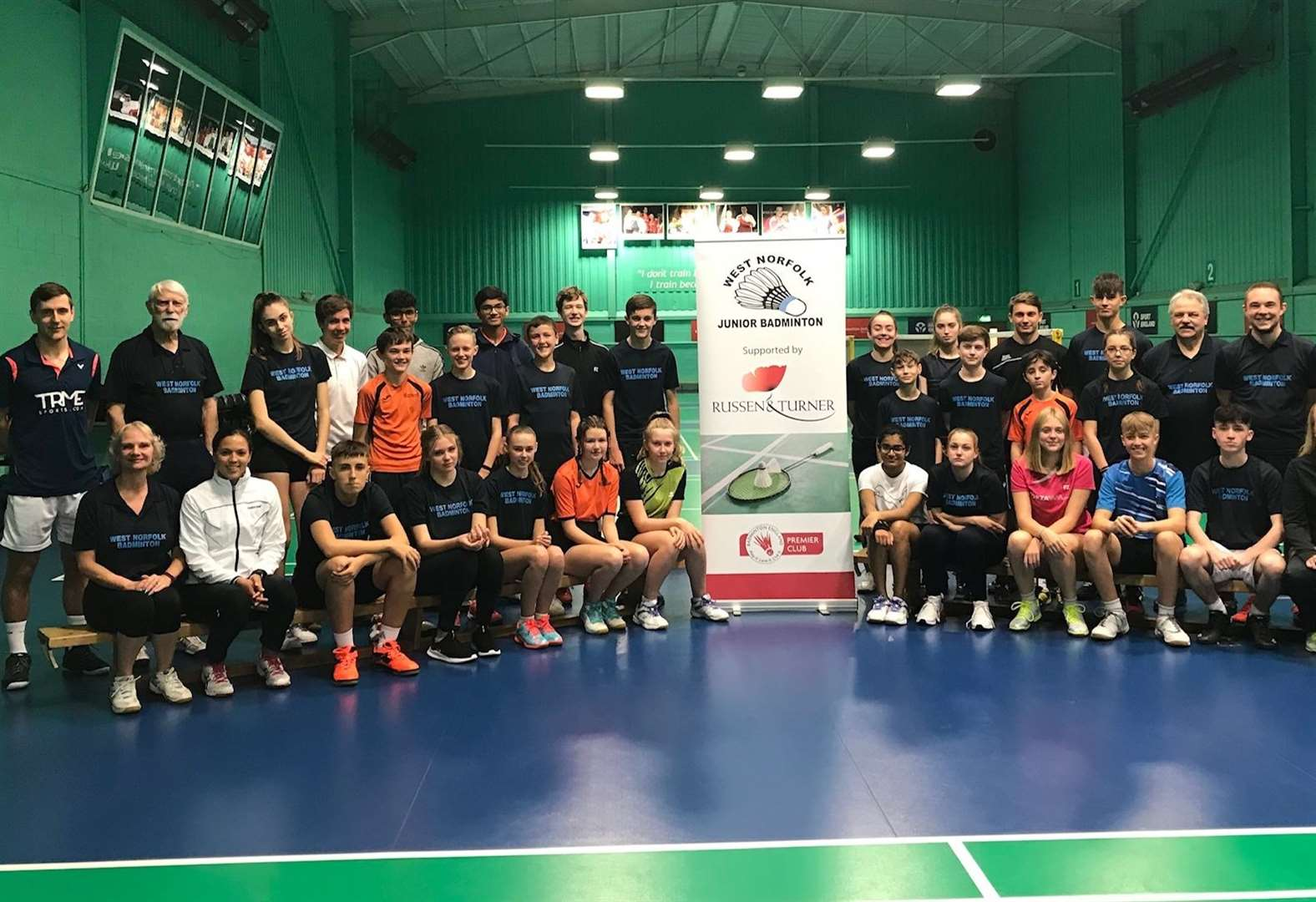 West Norfolk youngsters coached by England stars