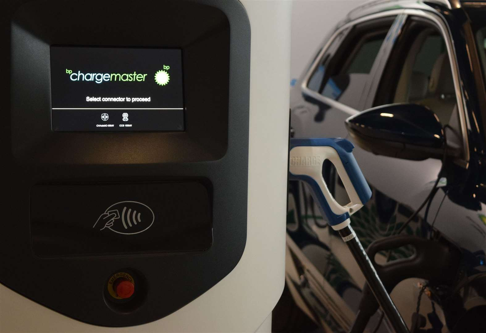 Electric car rapid charging points installed in Swaffham car park