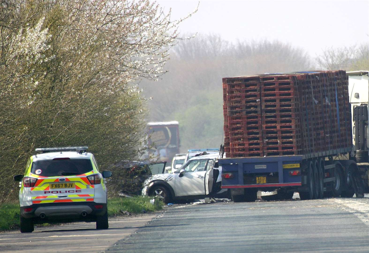 Man bailed following serious crash on A17 near Sutton Bridge